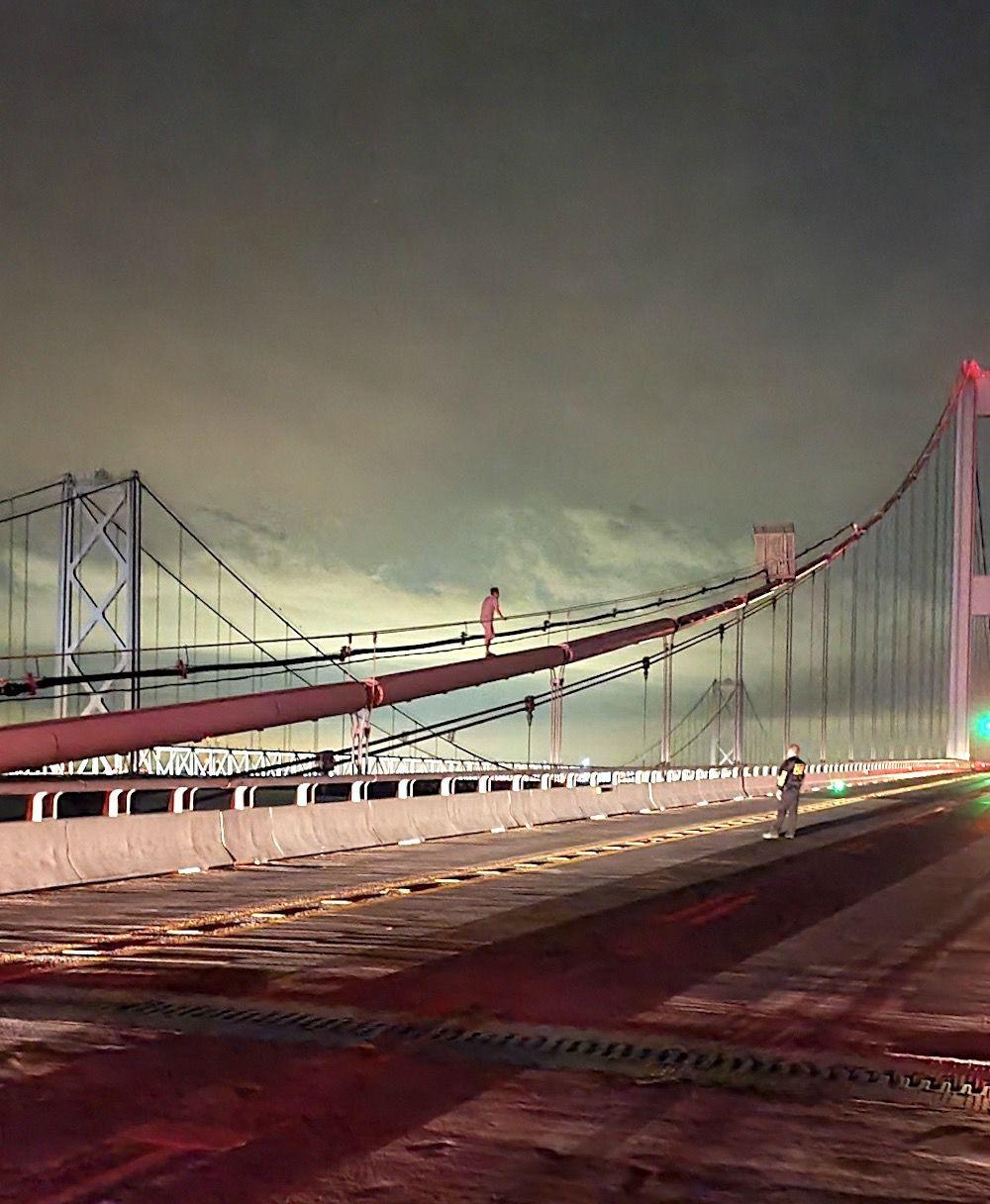 Bridge crisis has happy ending