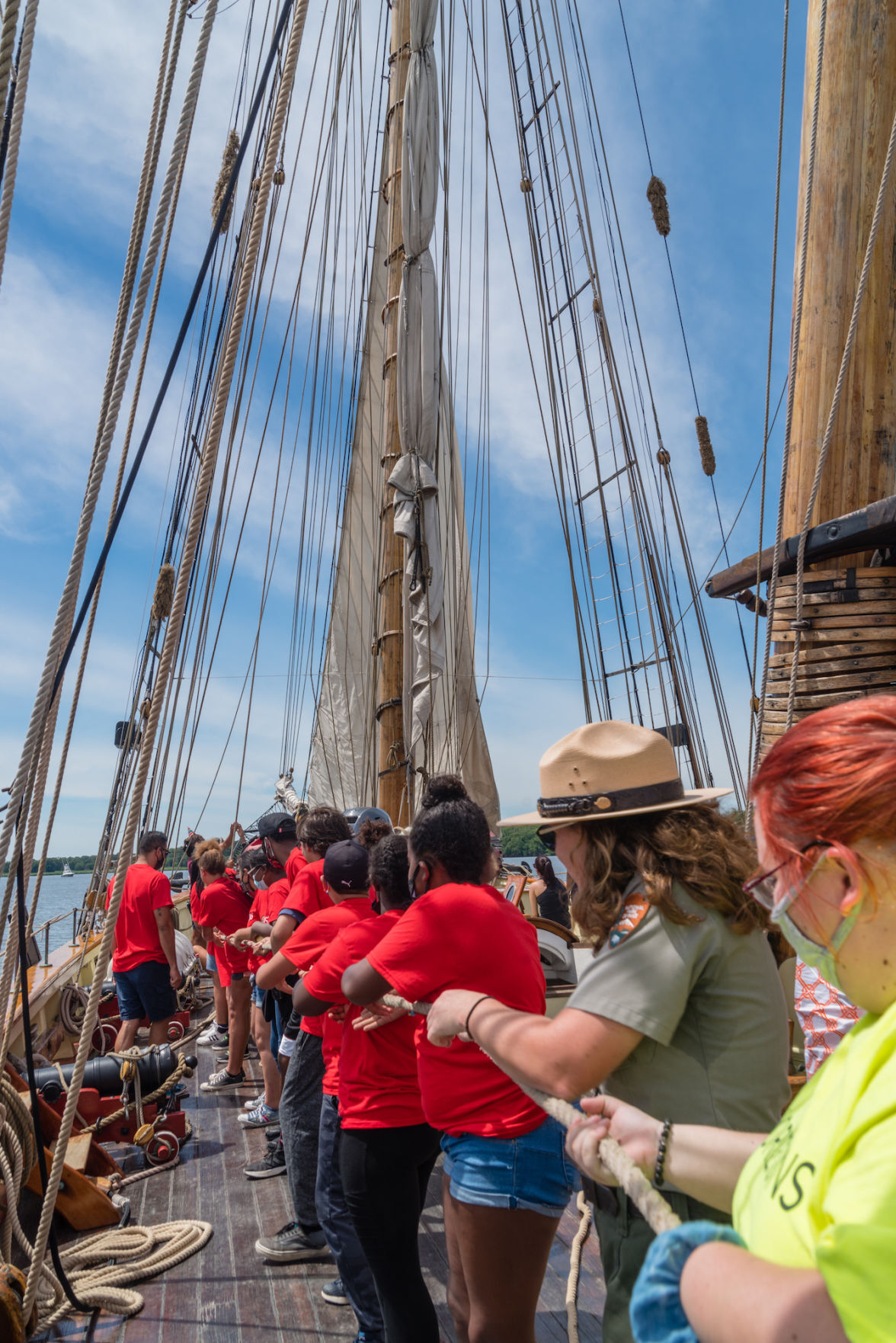 History sails into Kent County