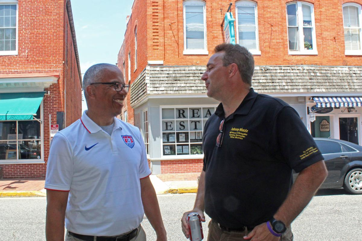 Hogan, Rutherford visit Mid-Shore