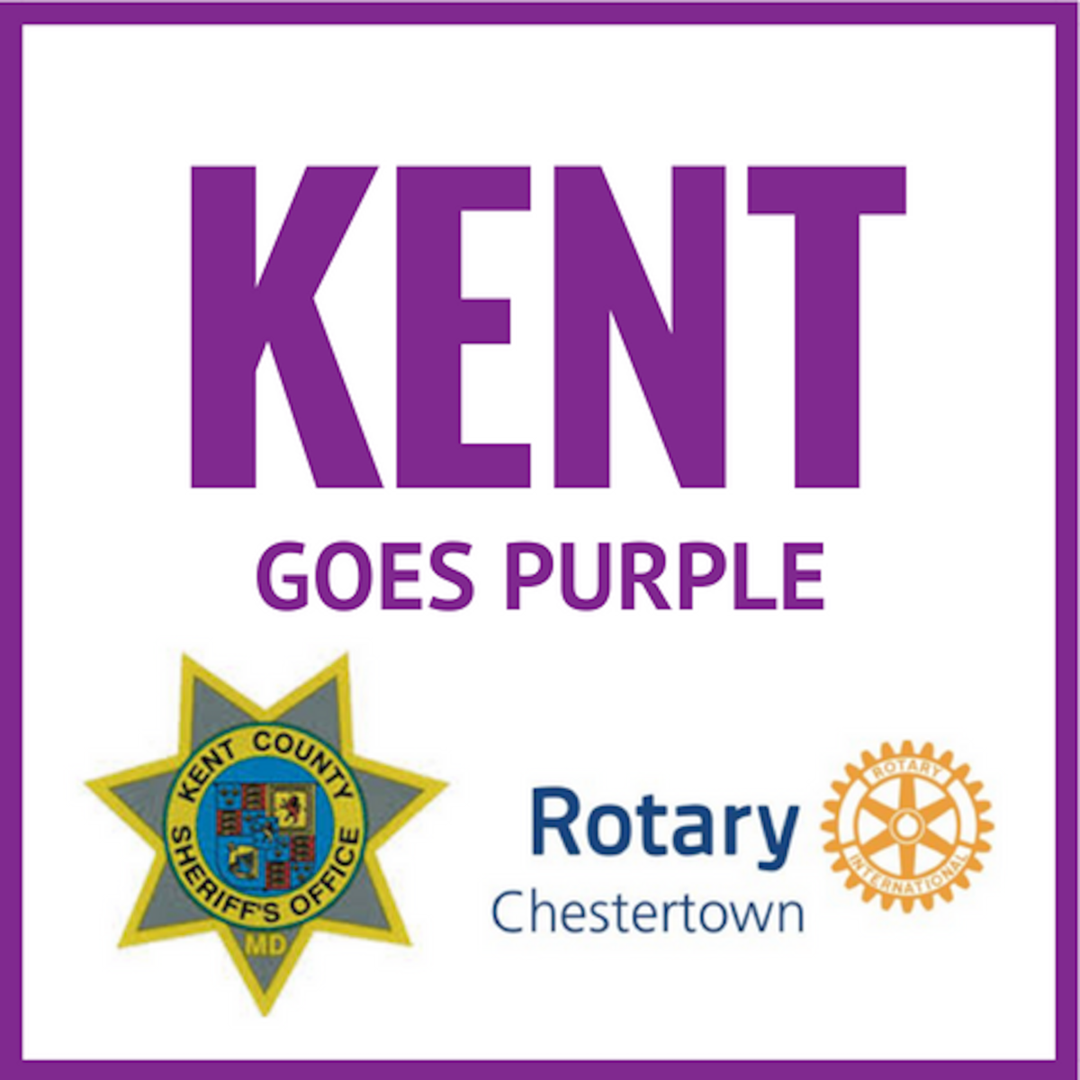 Kent Goes Purple
