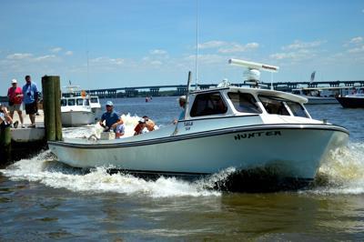 Waterman Docks Boat