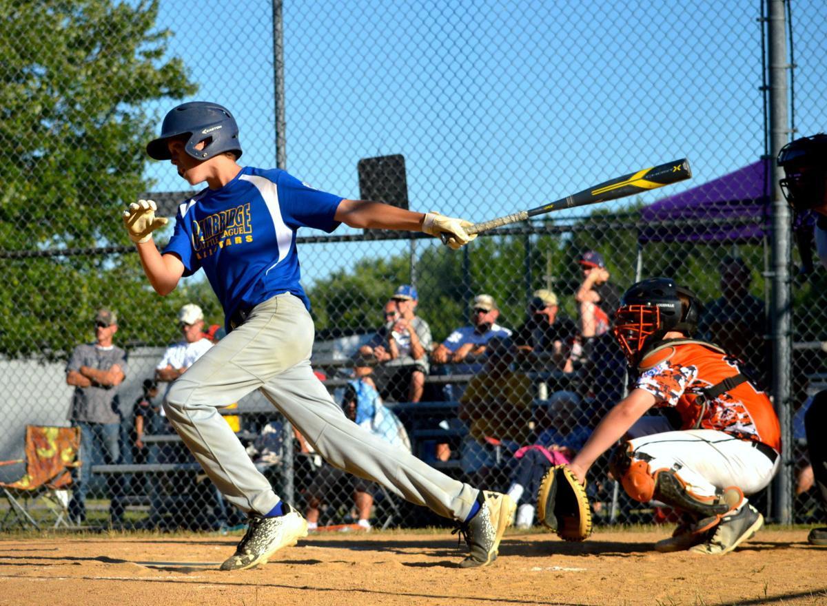 Little League Baseball: Cambridge against Easton