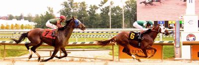McGinnes-bred gets 1st win in 4 starts this year