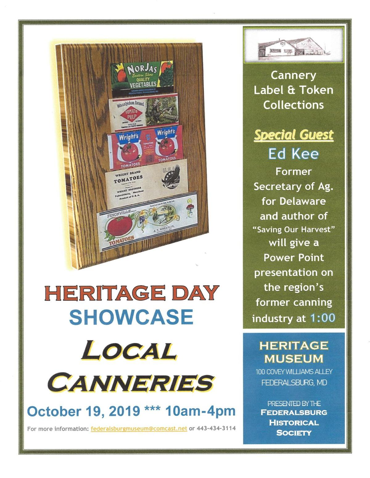 2019 Heritage Day Flyer