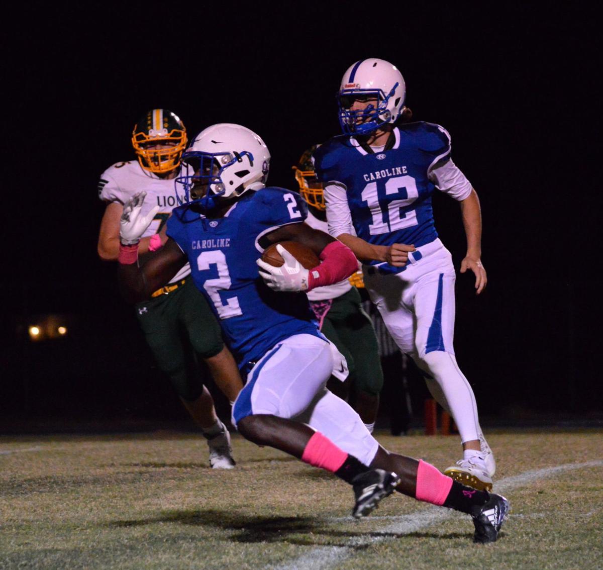 High School Football: Queen Anne's at North Caroline