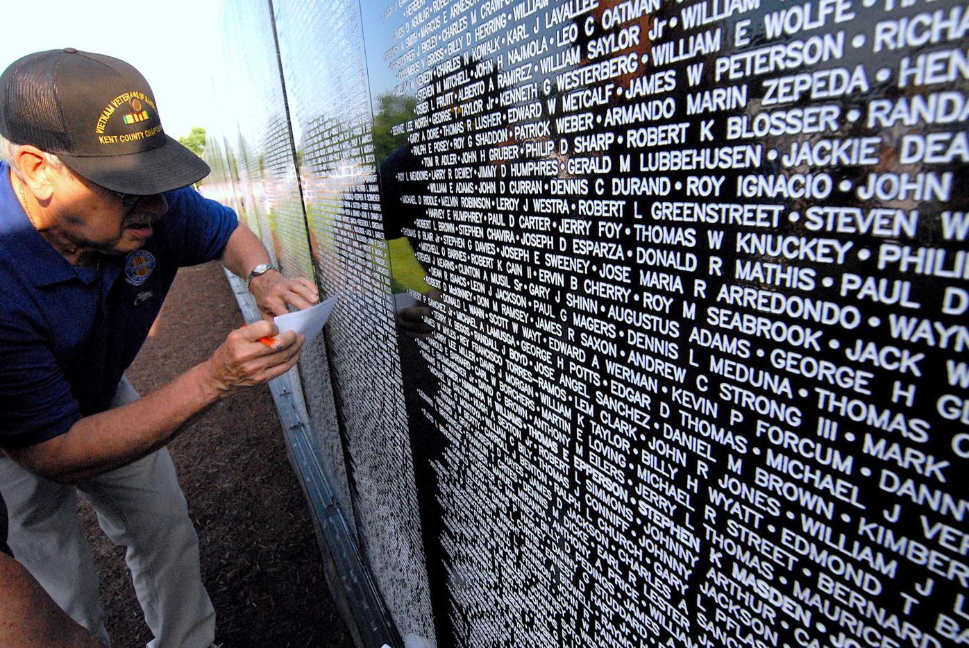 Vietnam Wall Opens In Easton News Myeasternshoremd Com