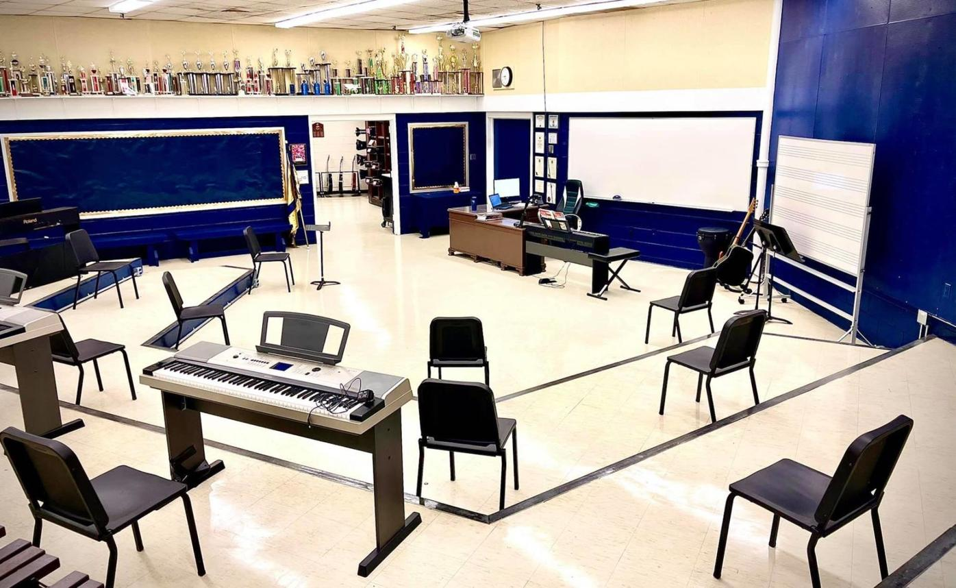 CSDHS Band Room