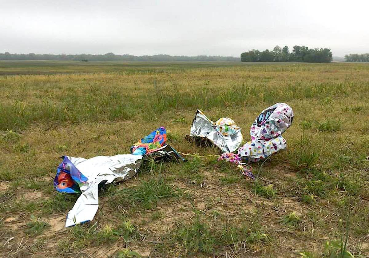 County moves to ban balloon releases