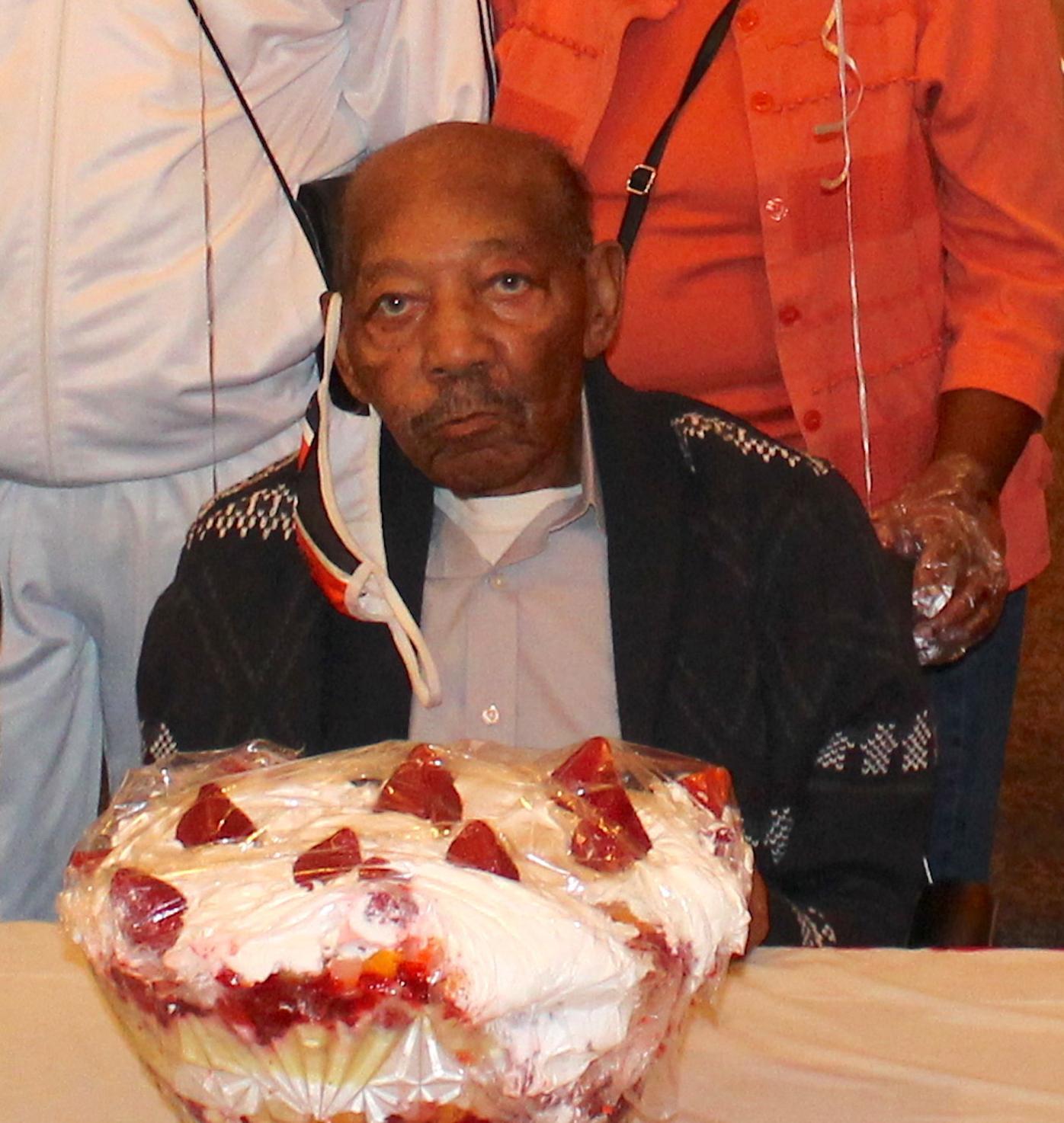 Authur Jones 101st birthday '20
