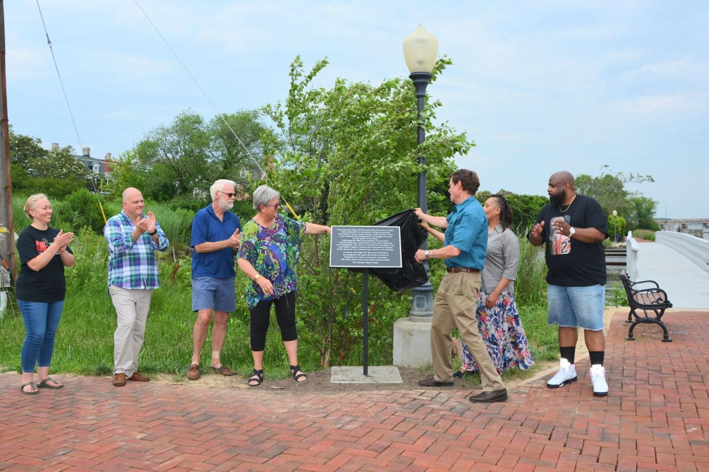 Chestertown unveils historic signage on Juneteenth