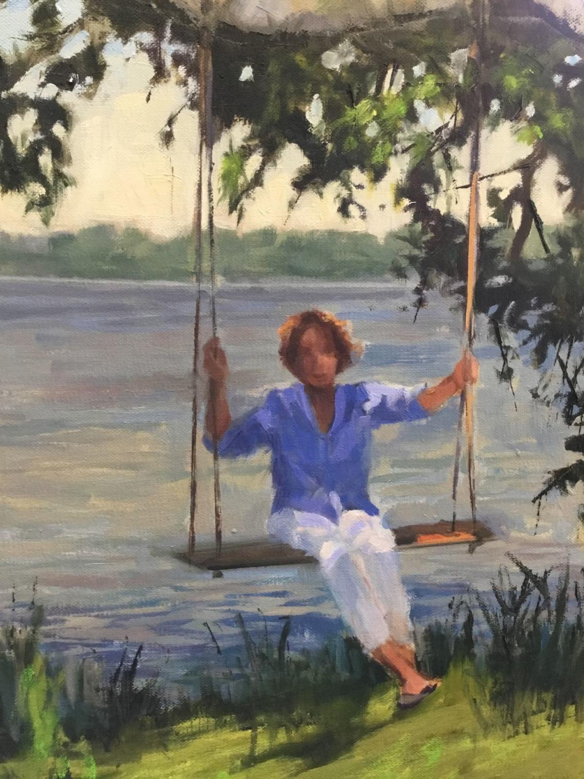 The Artists' Gallery features Mary Ellen Mabe in 'Color Notes'