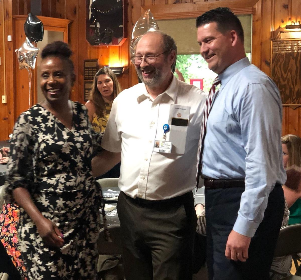 Brown retires after 38 years of service