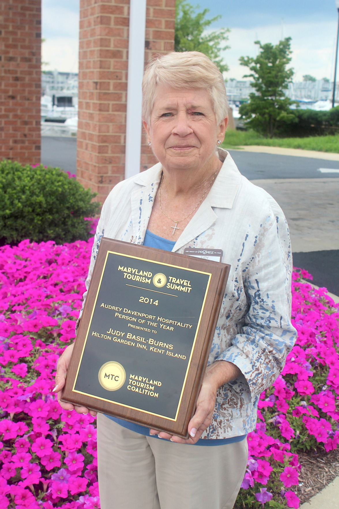 Basil Burns Receives Tourism Honor Queen Annes County