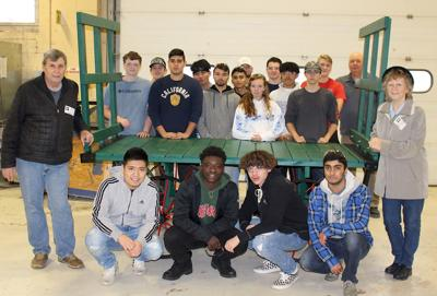 Students lend hand in preserving history