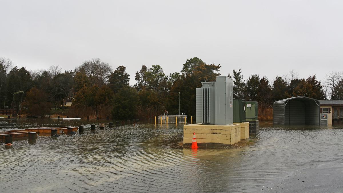 Extreme rainfall decreases Chesapeake Bay score