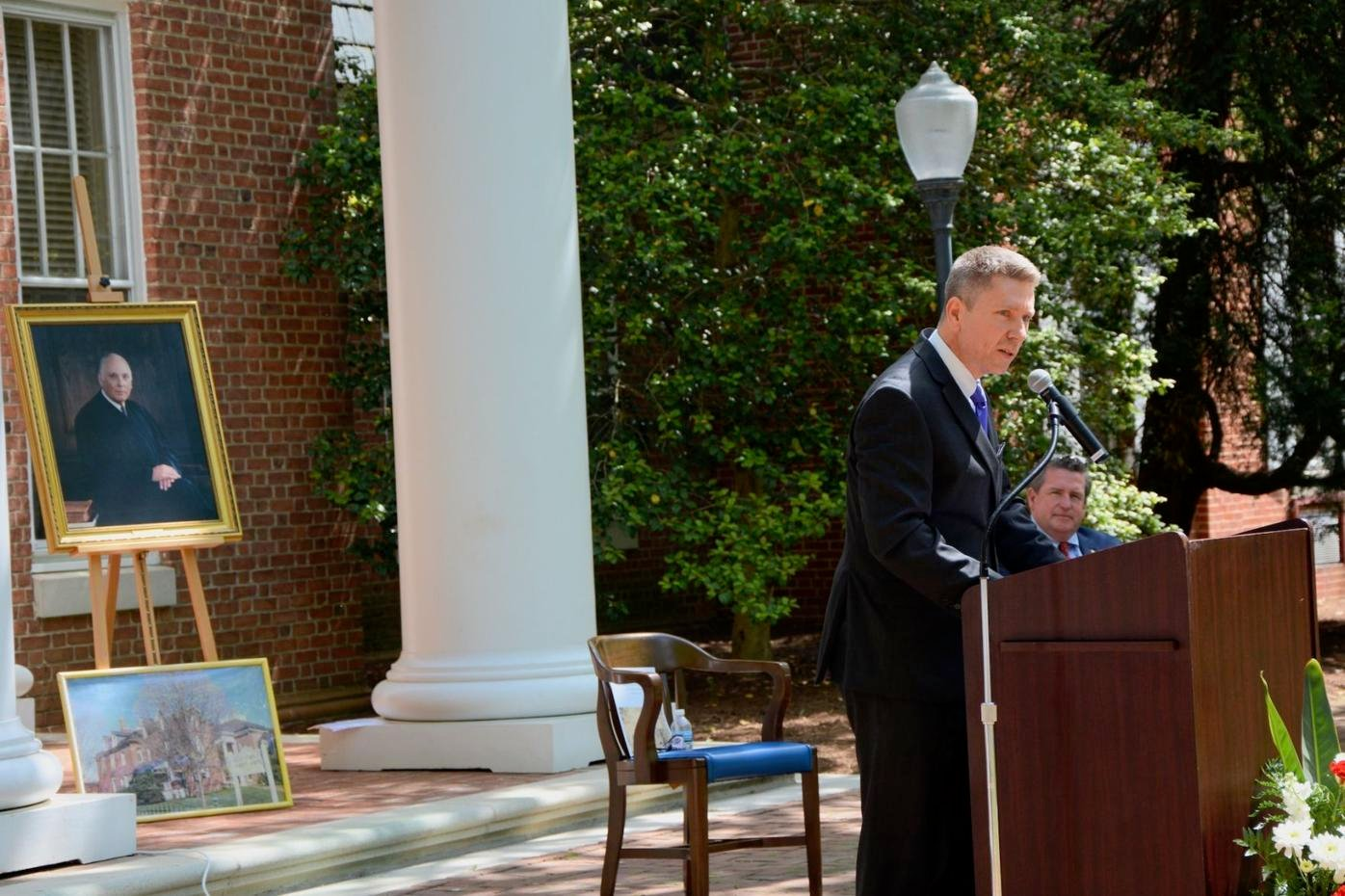 Courthouse formally dedicated to Judge George B. Rasin Jr.