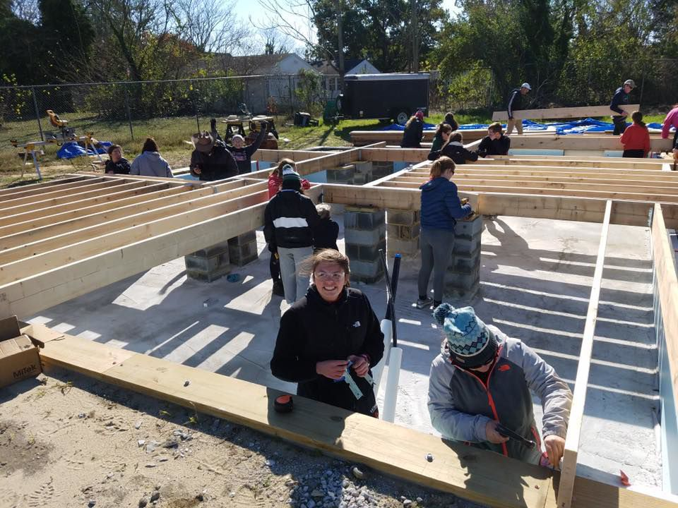 Tuckahoe Habitat for Humanity completes Denton home