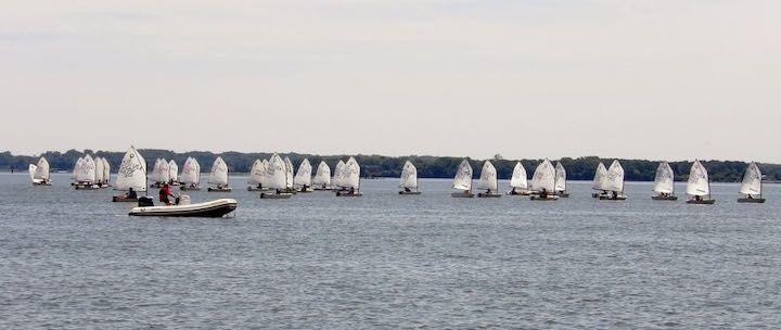 Rock Hall's regatta for junior sailors draws fleet of 98 boats