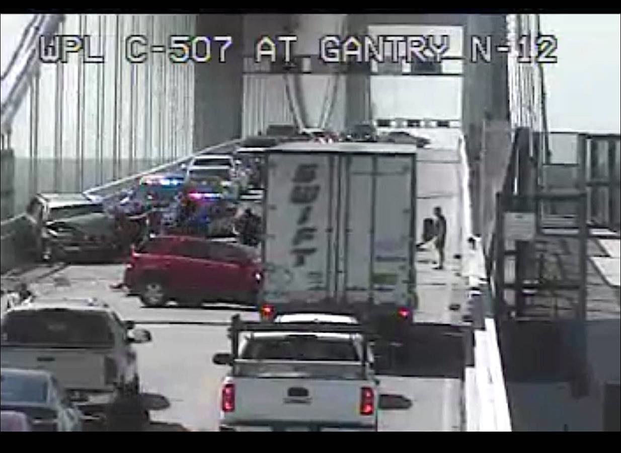 Bay Bridge accident
