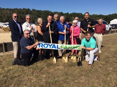 Federalsburg Royal Farms groundbreaking