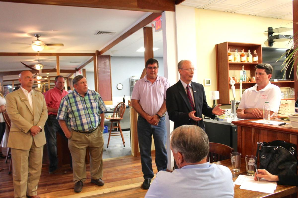 Republican Candidates For County Commissioner Hold Meet And Greet In