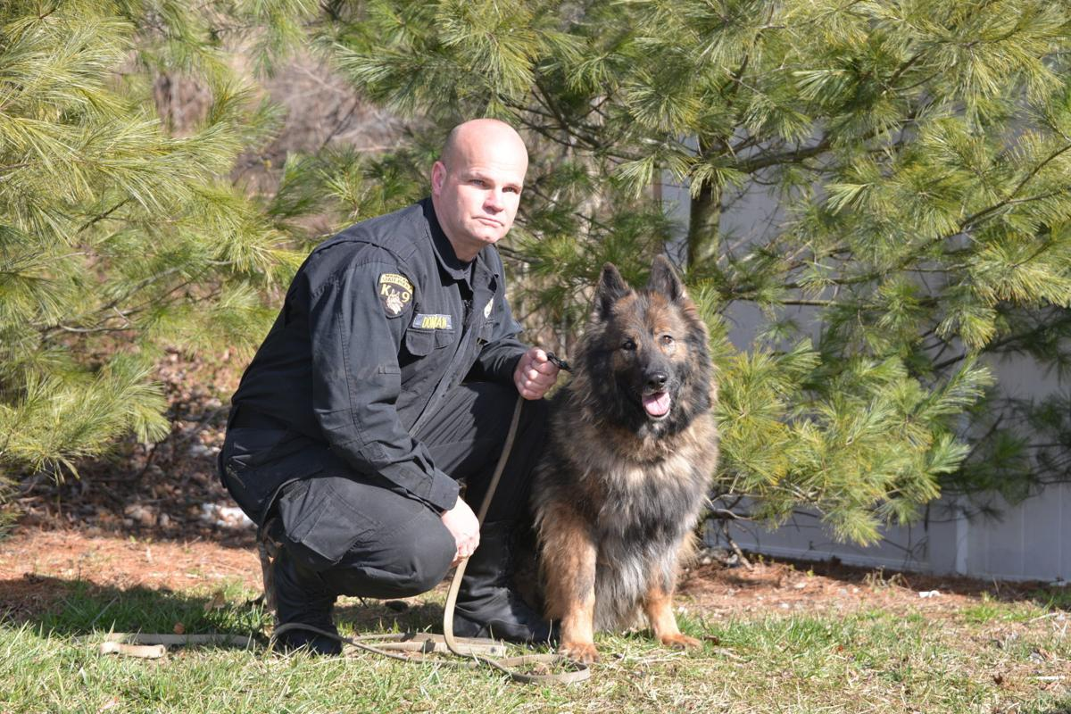 Restored cemetery honors memory of four-legged state troopers