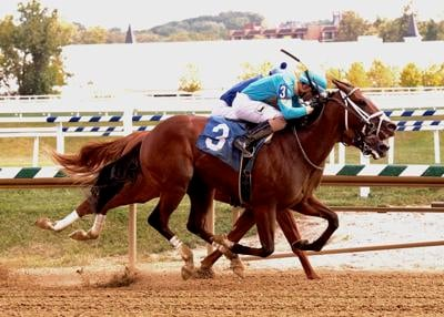 Bowman-bred gets first stakes win on what would have been Preakness Day before COVID-19