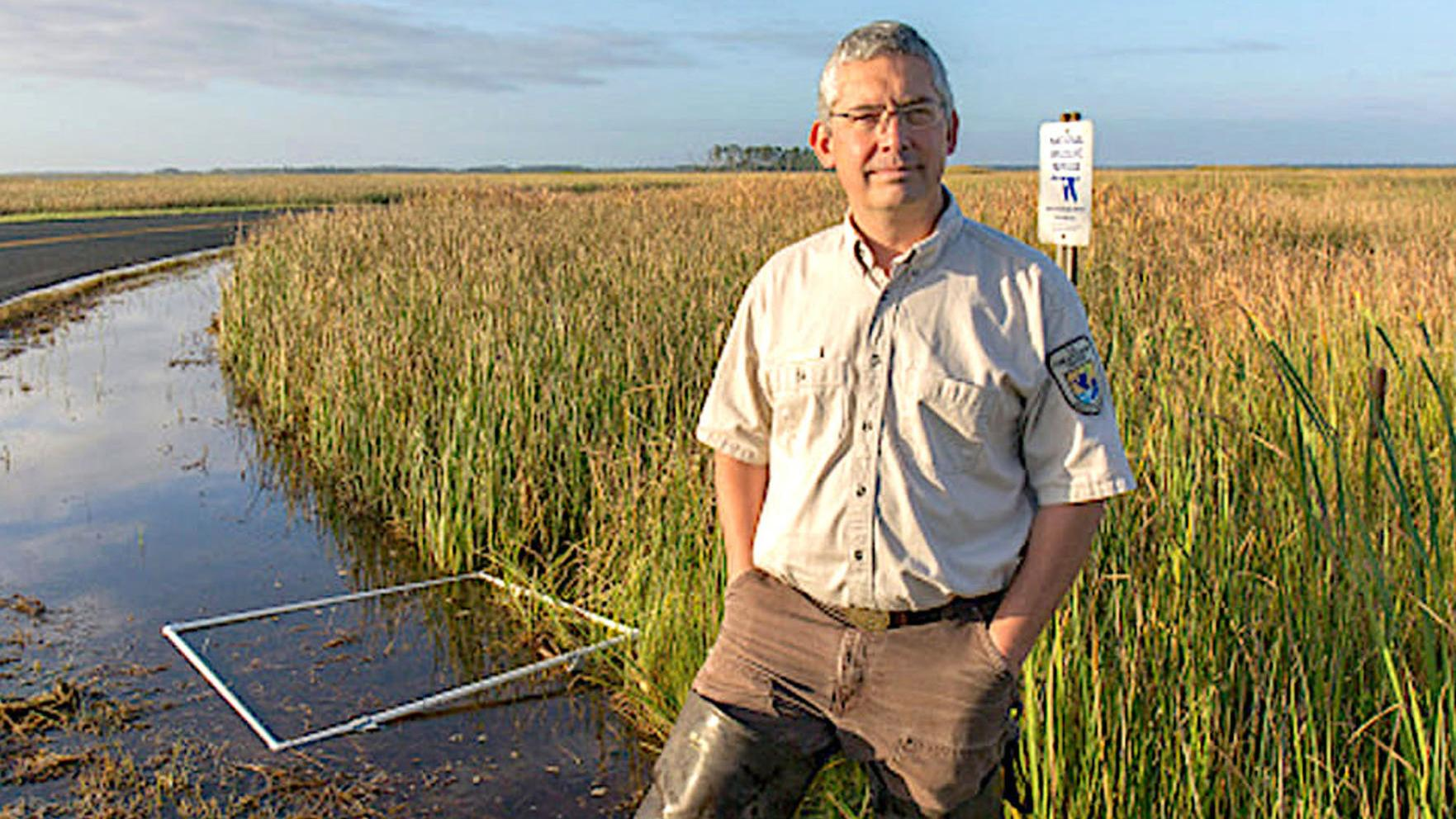 Biologist honored for leadership in climate adaptation