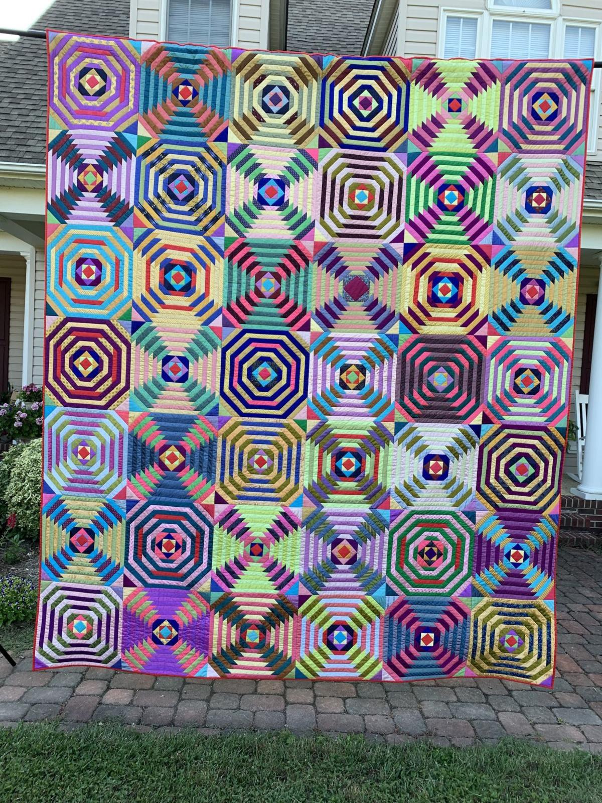 Centreville artist's quilt featured in national show