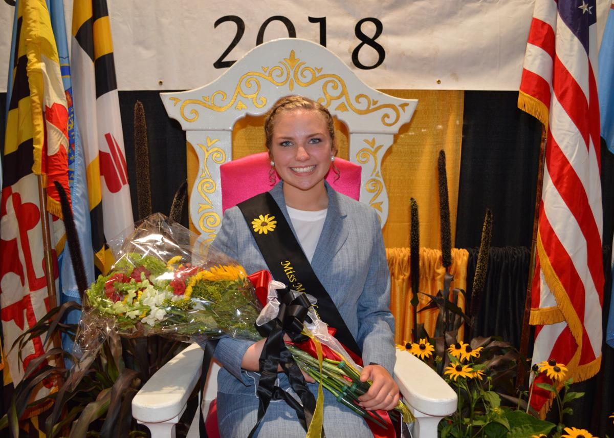 Miss Maryland Agriculture 2018 Miss Bailey Riggs
