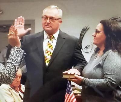 Hurlock Mayor Mike Henry Sworn In