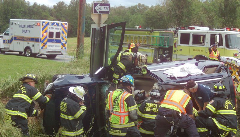 Three injured in two-vehicle crash Friday afternoon | Queen Annes