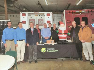 Federalsburg firehouse now powered by the sun