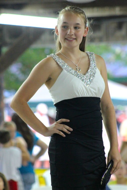 Models Take The Runway At Queen Anne's County Fair Fashion