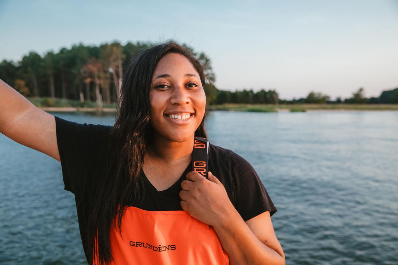 Imani Black working to bring diversity to aquaculture
