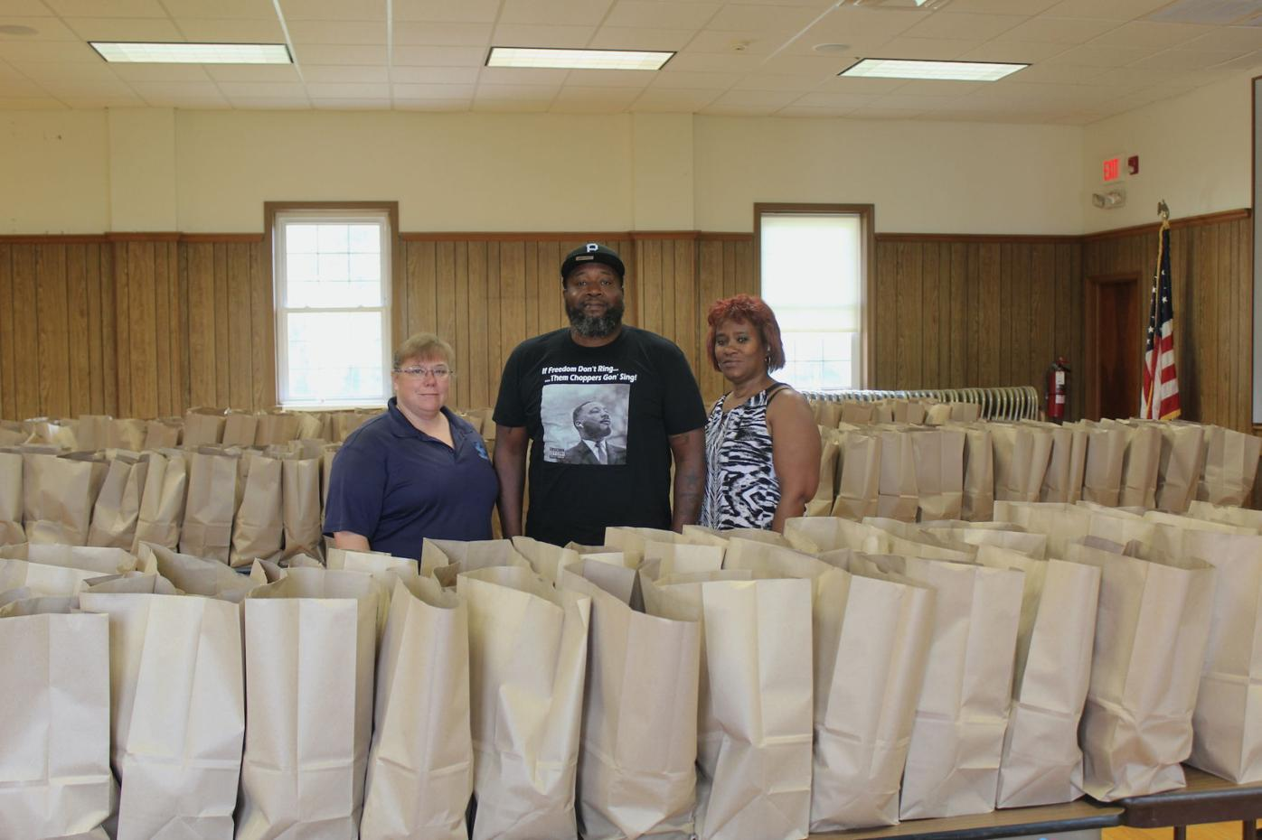 Commissioners approve first use of ARPA funds for feeding initiative