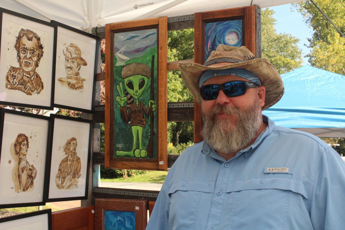 Ben Kolb from Nativibes Art Studio and Gallery