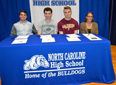 NC athletes sign to play in college