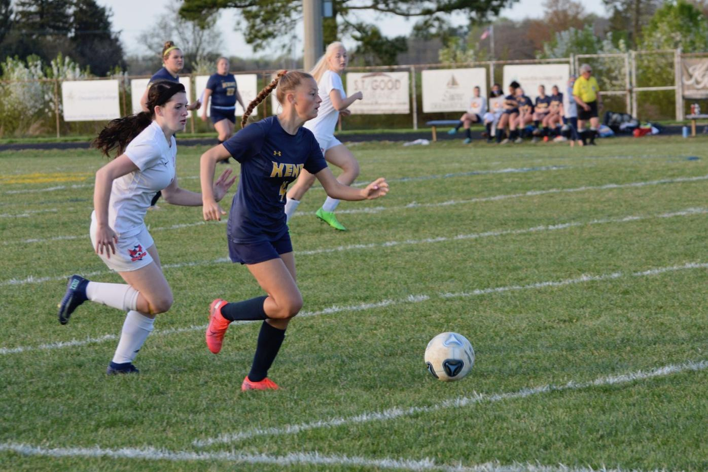 Kent boots North Dorchester in seniors' final soccer match at home