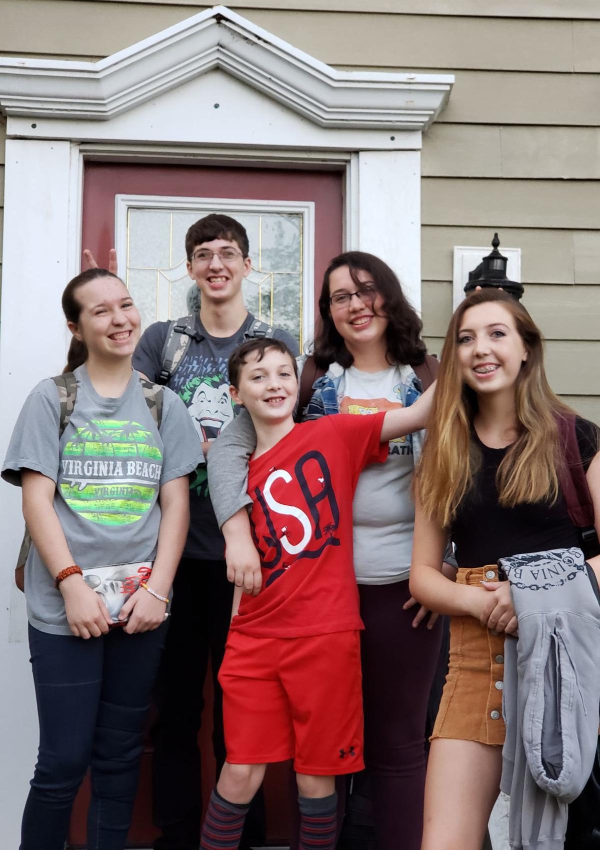Caroline County First Day of School 2019