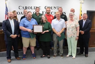 NCHS custodial staff