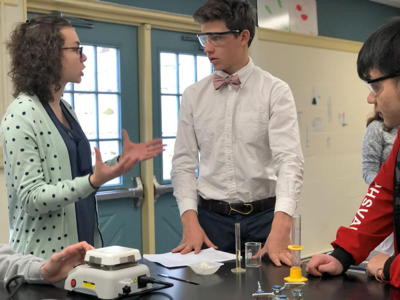 Educating for sustainability at Gunston through green chemistry