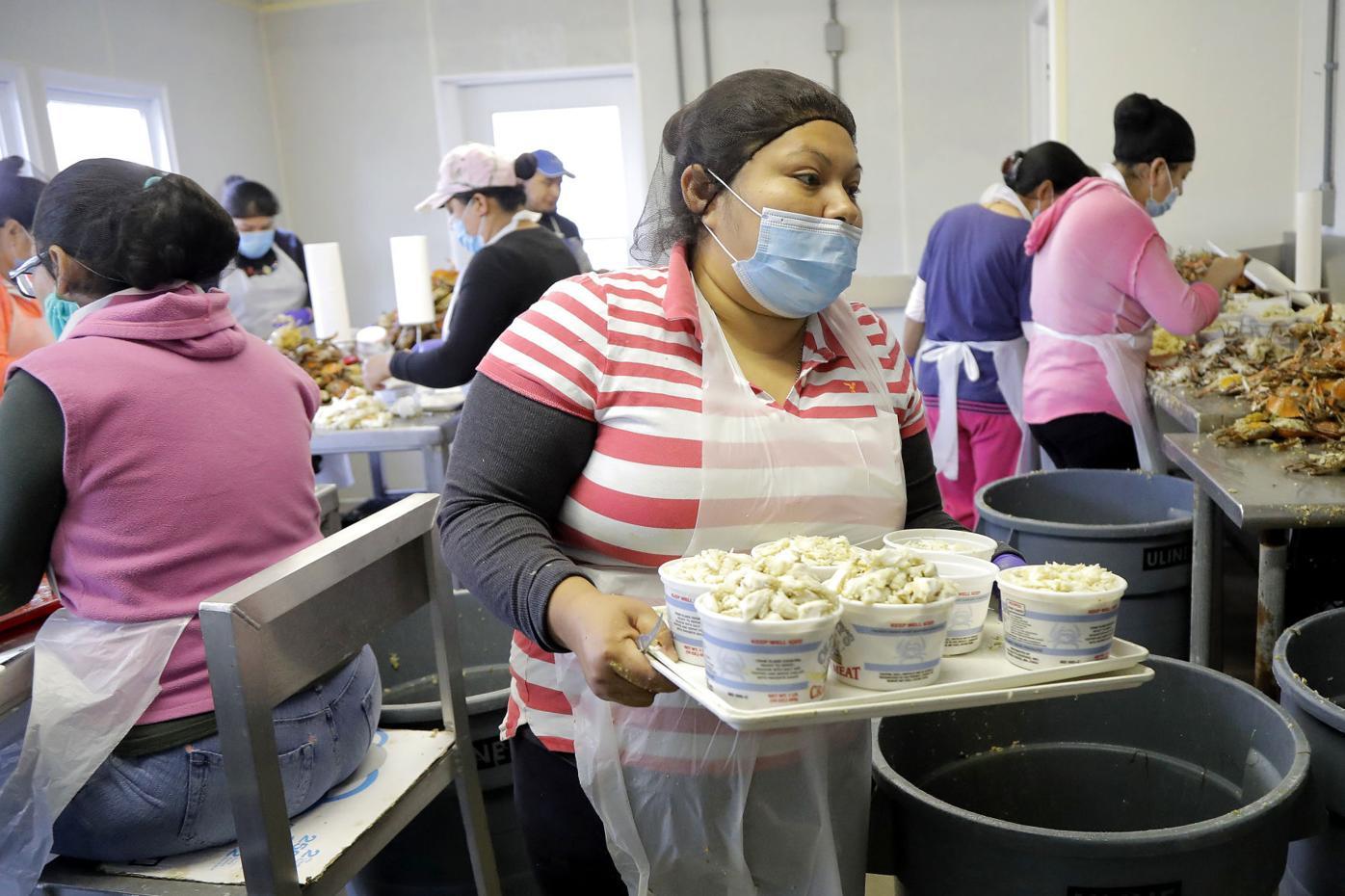 Virus Outbreak US - Guest Migrant Workers