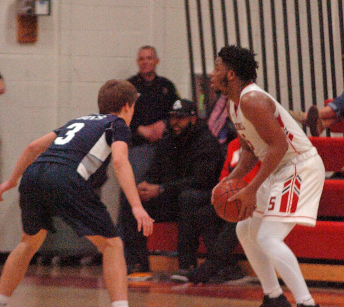 High School Boys' Basketball: Kent Island at Colonel Richardson, Feb. 4, 2019