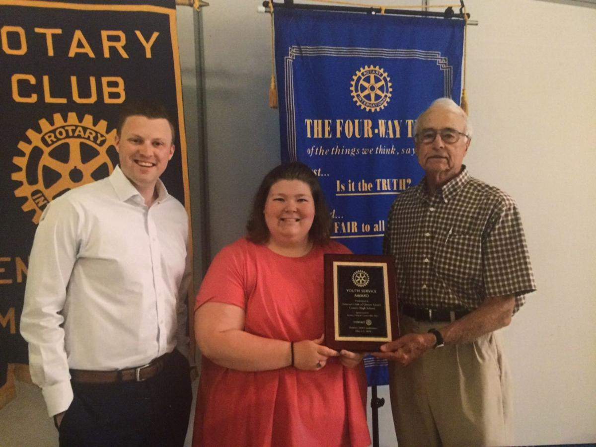 Youth Services Award presented to QA club