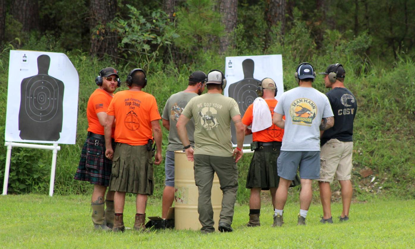 2nd Annual Top Shot Fundraiser for Patriot Point group shoots