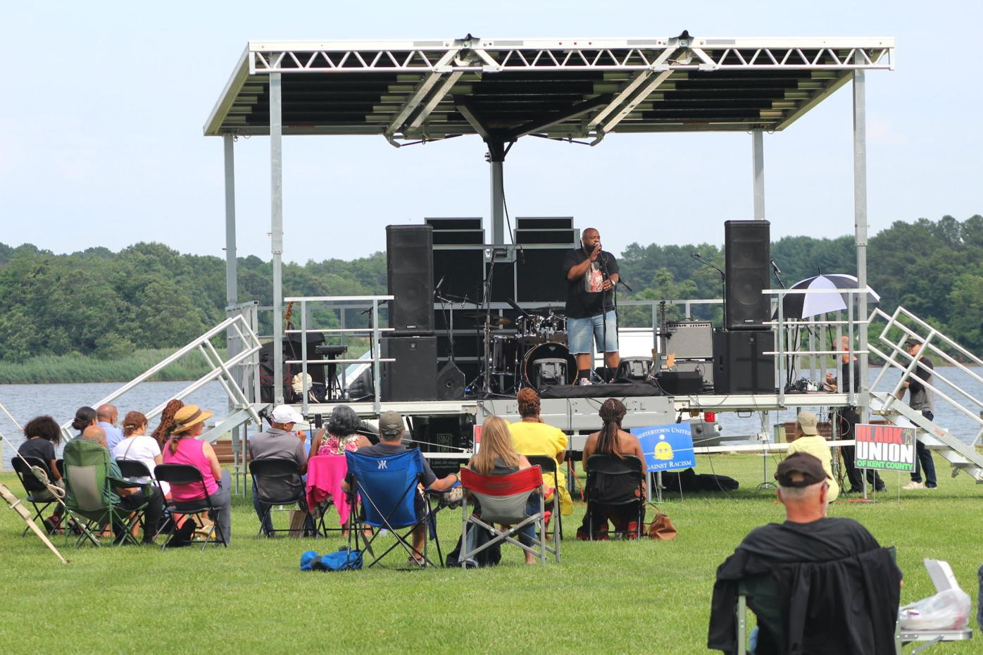 Chestertown celebrates Juneteenth with block party, festivities in Wilmer Park