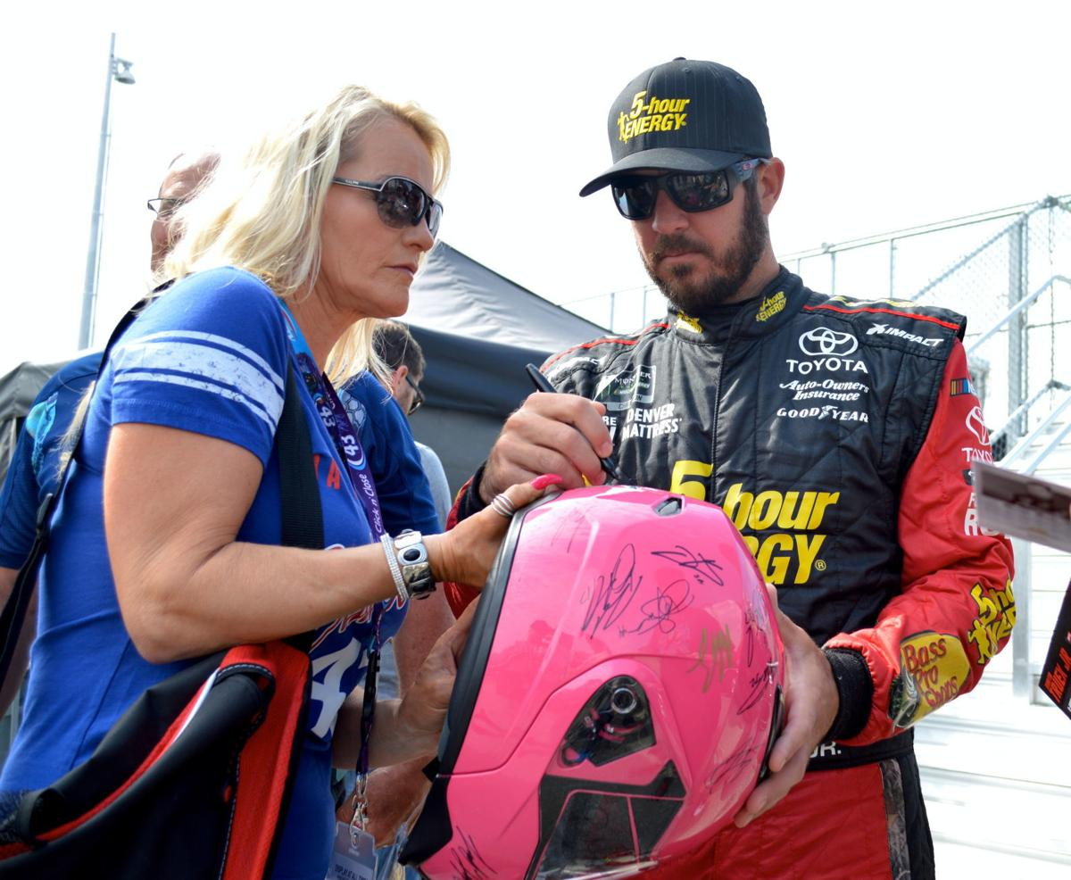 Ridgely Car Show To Auction Signed NASCAR Helmet Spotlight - Ridgely car show