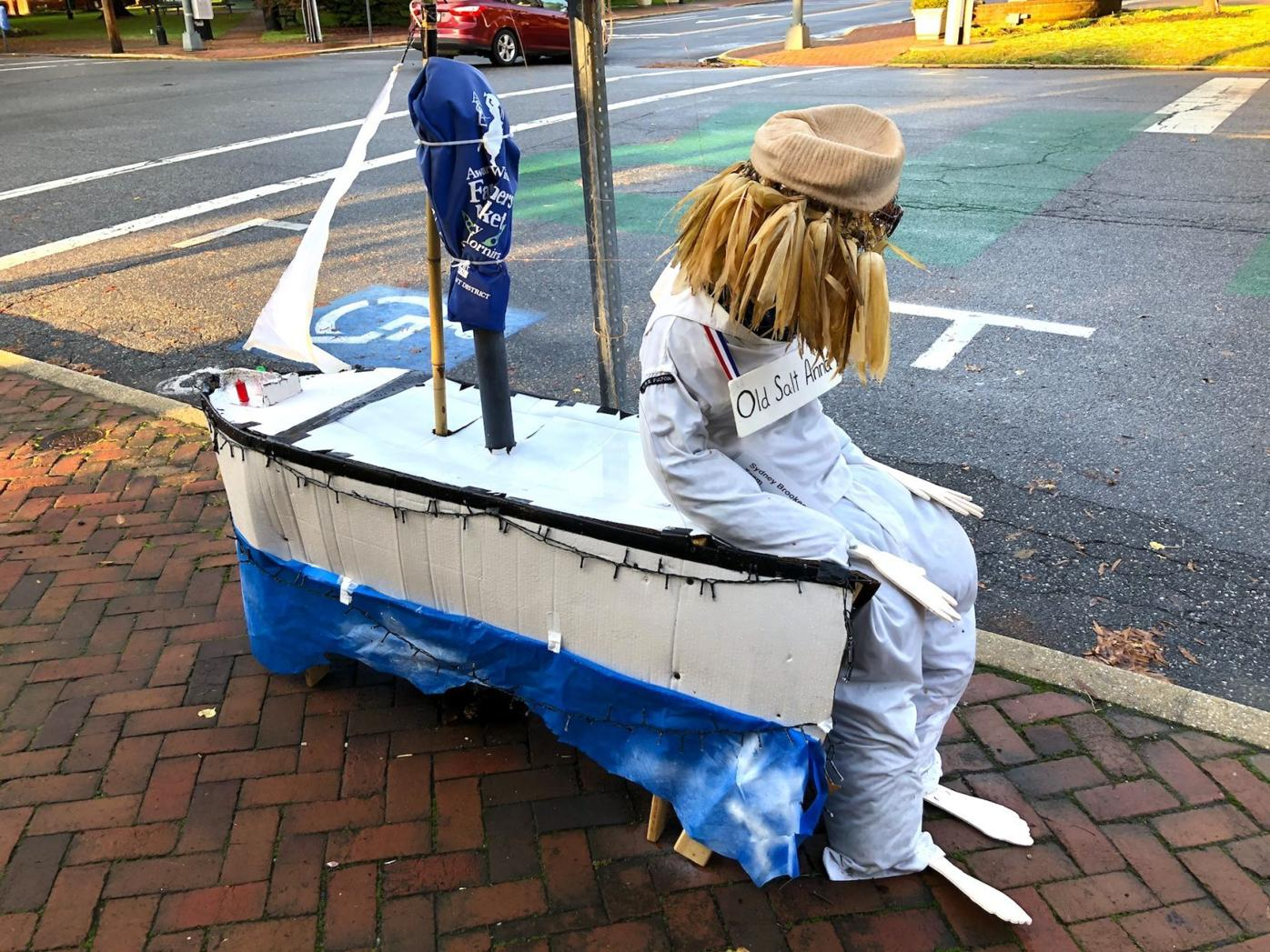 Halloween contest decorates downtown