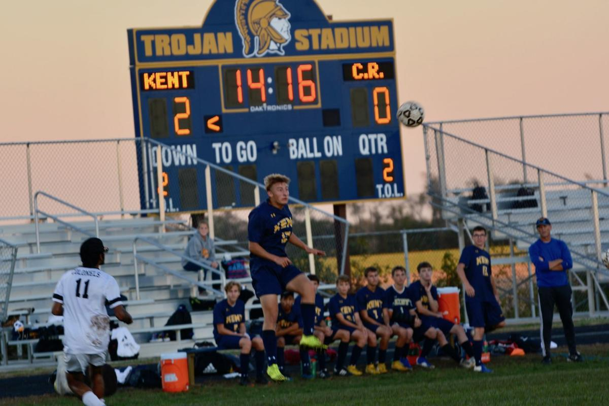 Kent boys boot Colonels, 2-0, in 1A East soccer